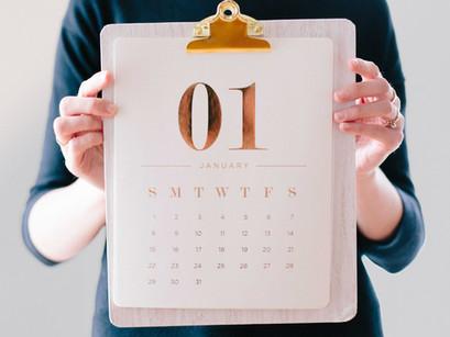 1月のレッスン日程・BAMBIS英語教室