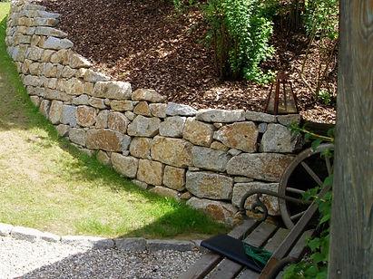 Steinmauerbau Schwanenstadt - Vöcklabruck