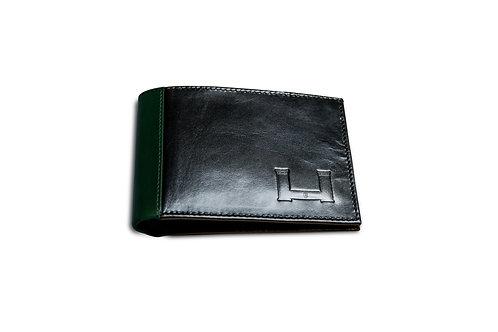 Billetera Negro/Verde
