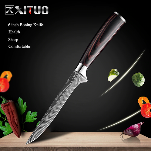XITUO Chef Knives Set 8 Inch Japanese High Carbon Stainless Steel