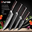 Thumbnail: XITUO Chef Knives Set 8 Inch Japanese High Carbon Stainless Steel