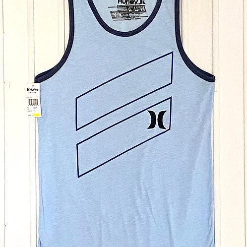 Camiseta desmangada HURLEY (azul)