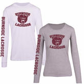 Mens Bear Logo Long Sleeve T-Shirt
