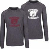 Mens Bear Logo Heather Long Sleeve Heather T-Shirt