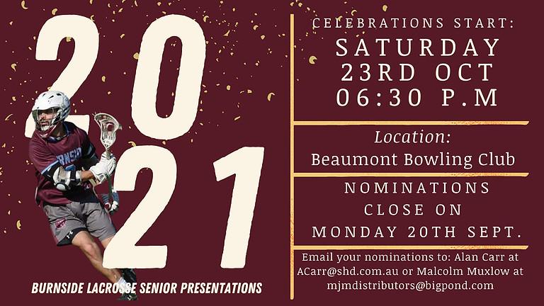 2021 Senior Presentations