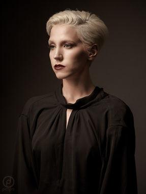 Photographer John Hagby Model Lilith Etch Makeup Sara Glavin