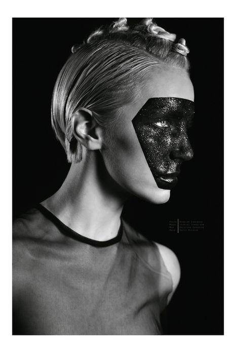 Photographer Binniam Eskender Model Lilith Etch Makeup Kristina Sundberg Hair Sofie Nilsson