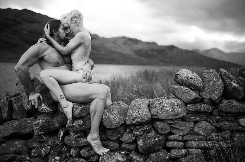 Photographer Oliver Godby Models Will Newton & Lilith Etch