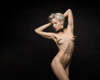 Photographer Barrie Spence Model Lilith Etch