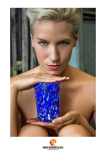 Glass: @wave_murano_glass Photographer @sabotboy1966 Model Lilith Etch