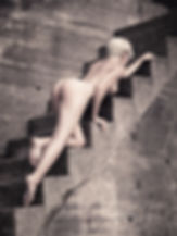 Fine art nude model