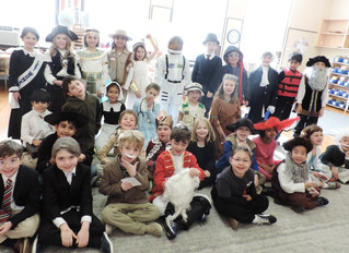 Historic Halloween Fun in Elementary
