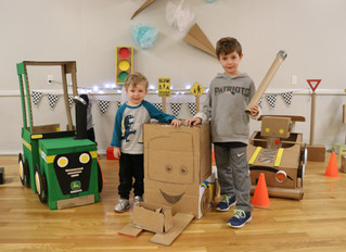 Innovation and Imagination at the NMS Cardboard Challenges