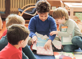 Primary Classrooms Celebrate The Holidays With Annual Book Exchange
