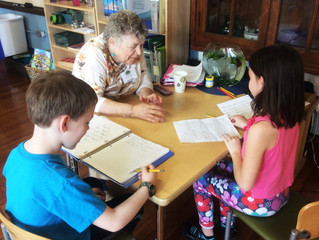 Elementary Students Celebrate Poetry