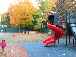 Touring the Renovated NMS Playground