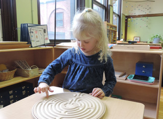 Labyrinths in the Classroom: Cultivating Mindfulness in a Montessori Setting