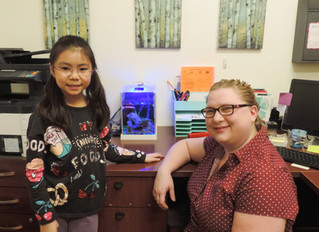 Figures, Fish Tanks, and Friends: A Third Grade Internship