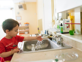 "Confident Toddler, Clean Home: A Guide for ""First Chores"""
