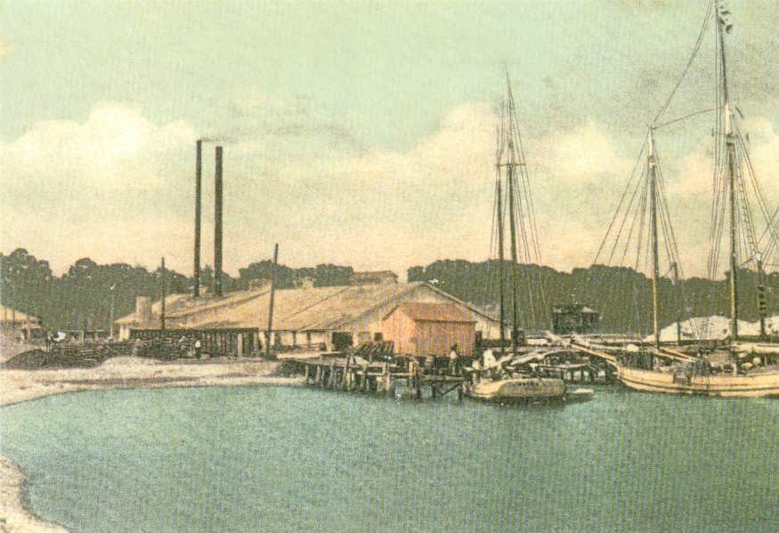 Life in Biloxi way back when, circa 1900