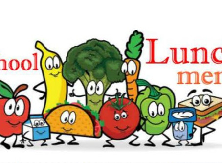 Snacks & Lunch Menu (September)