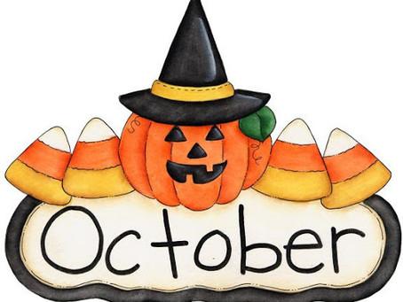 Snacks & Lunch Menu (October)
