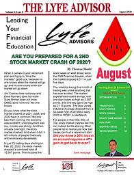 LYFE ADVISOR Newsletter August 2020 (FIN