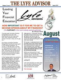 LYFE ADVISOR Newsletter August 2019 (FIN