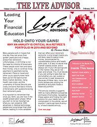 LYFE ADVISOR Newsletter FEB 2019 (final)