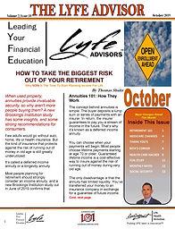LYFE ADVISOR Newsletter October 2019 (FI