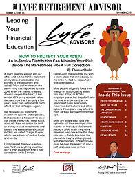 LYFE ADVISOR November Newsletter(final F
