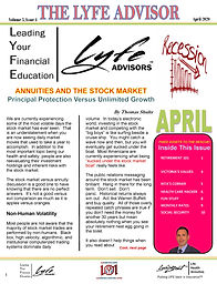 LYFE ADVISOR Newsletter April 2020 final
