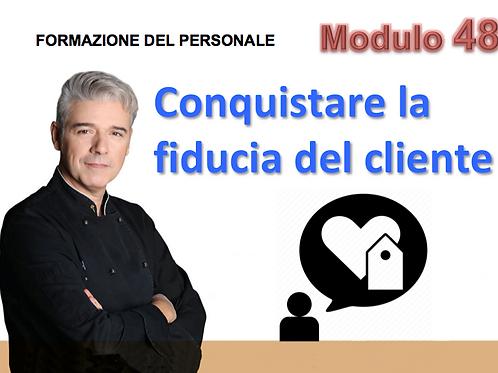 Copia di Webinar online per dipendenti: Conquistare la fiducia del cliente