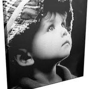 Foto op canvas 20x30cm