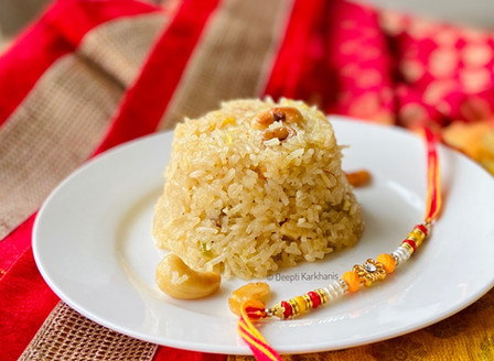 Narali Bhat ( Sweet Coconut Rice )