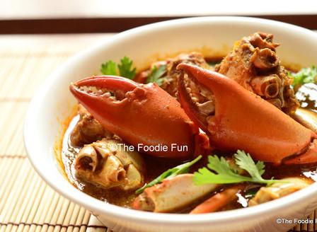 Chimbori Kalvan ( Crab Curry)