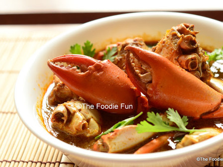 Chimbori Kalvan ( Crab Curry)