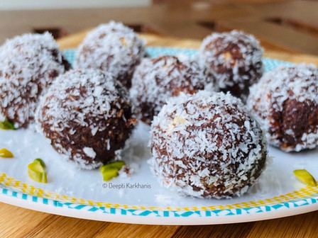 Choco Coconut Balls