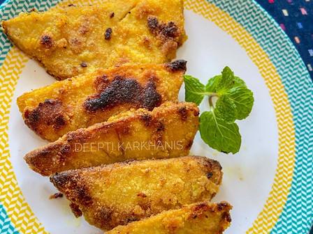 Suranache Kaap(Yam Fritters)