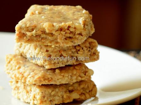 Tilachya Vadya (Sesame Cakes)