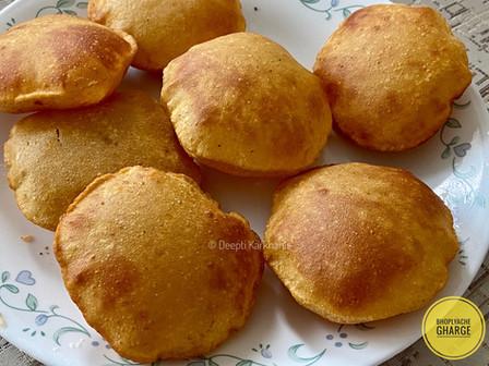 Bhoplyache Gharge(Sweet Pumpkin Puri)