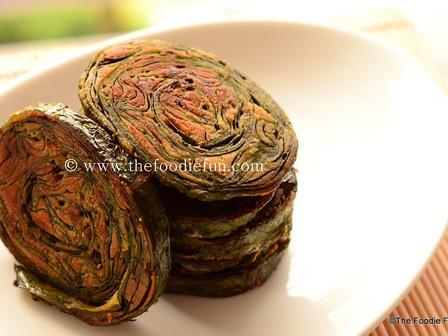 Alu Wadi (Colocasia Fritters)