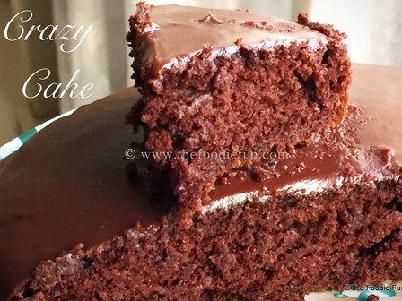 Crazy Chocolate Cake ( Vegan Cake)
