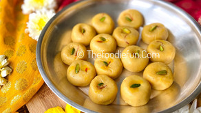 Keshar Pedhe (Saffron Pedha)