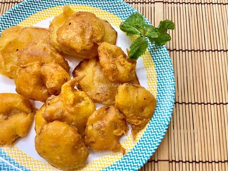 Batata Bhaji ( Potato Fritters)