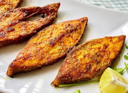 Halwa Fry (Black Pomfret)