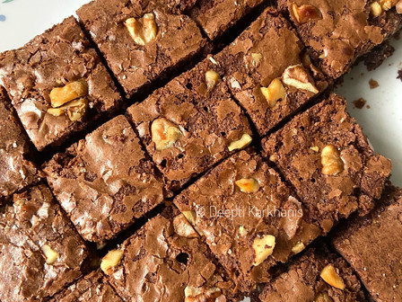 Choco Walnut Brownies