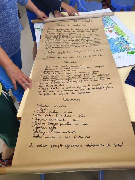 Alunos empenhados na cidadania ambiental inspirados na actividade de animação/mediação da leitura &q