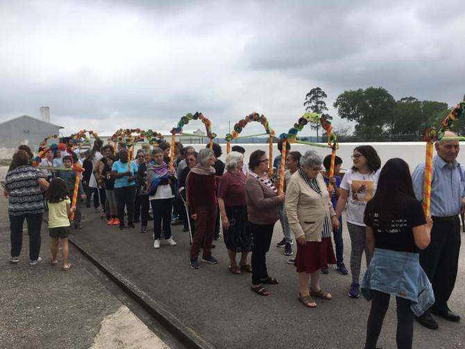 Marchas populares inter-geracionais envolvem alunos do AEM, AMITEI e projeto Viver Melhor no Bairro