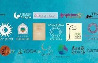 26店舗のロゴを背負ってリリースすること。ヨガスタジオ様やお店様への感謝とヨガの多様性のひろがり。